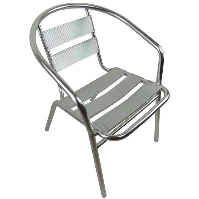 Cadeira Benoá Bistrô C10088 Alumínio