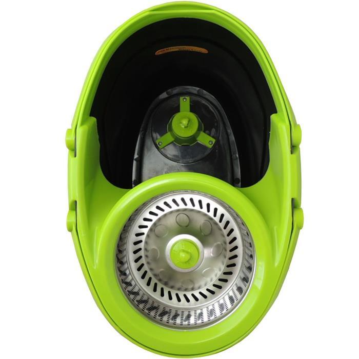 Balde Benoá YY-MOP-B2 Circular com 2 Rodas Cesto Inox