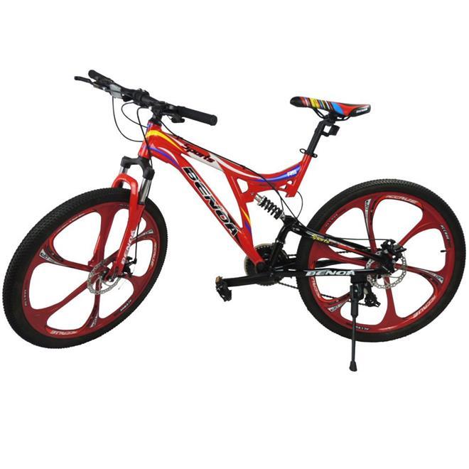 Bicicleta Benoá G26A516 21 Marchas Aro 26 com Suspensão