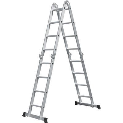Escada Benoá AM0116D Degraus de Alumínio Capacidade 150kg
