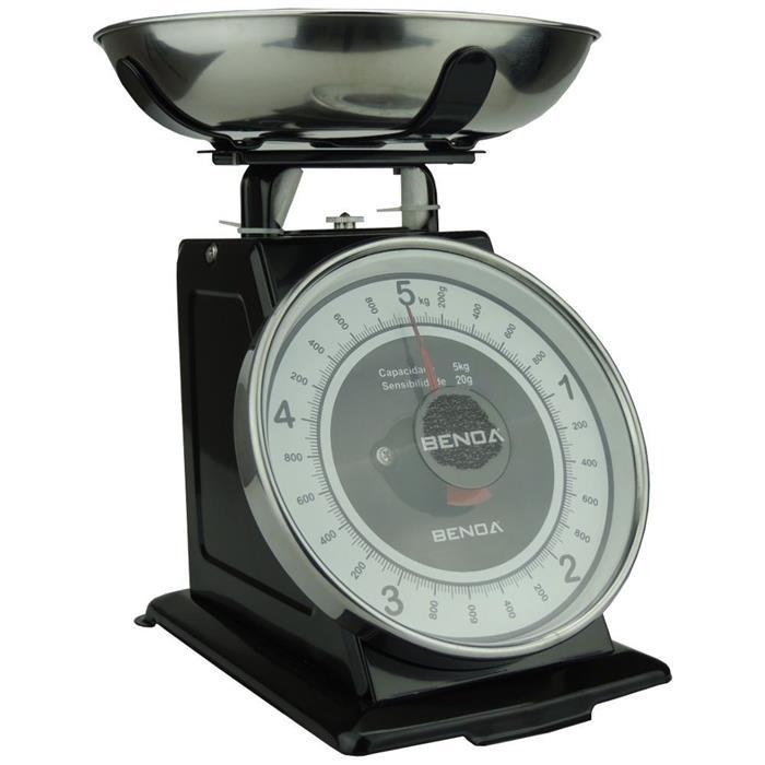Balança de Cozinha Benoá NR-CY-BLACK 5kg