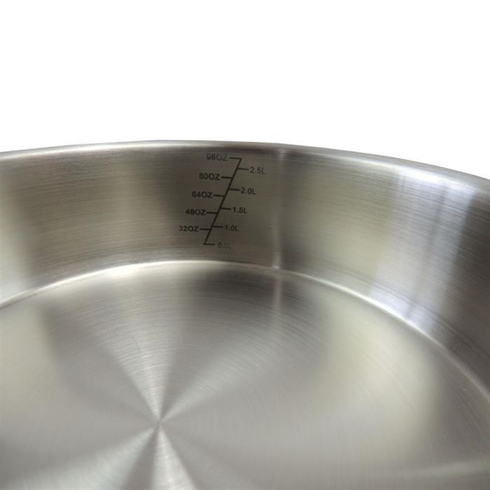 Conjunto de Panelas Benoá IDK233 4 Peças Aço Inox