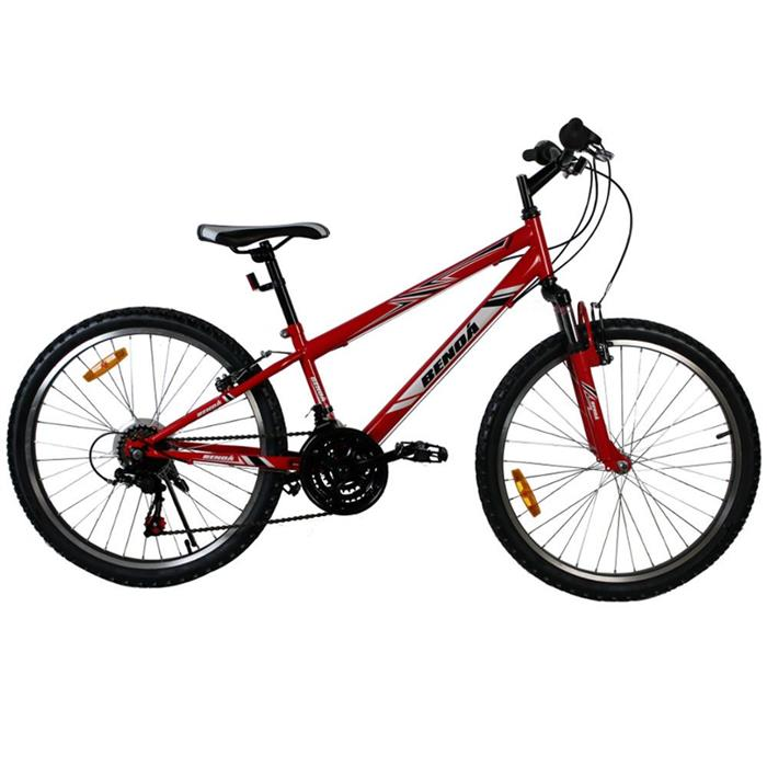 Bicicleta Benoá GG24K501RB 18 Marchas Aro 24 com Suspensão