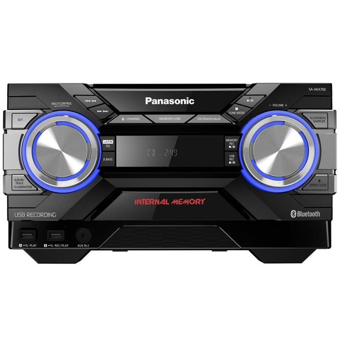 Mini System Panasonic SC-AKX700LBK 1800W Bluetooth USB