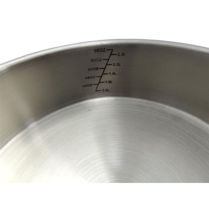 Conjunto de Panelas Benoá IDK233B Aço Inox 5 Peças