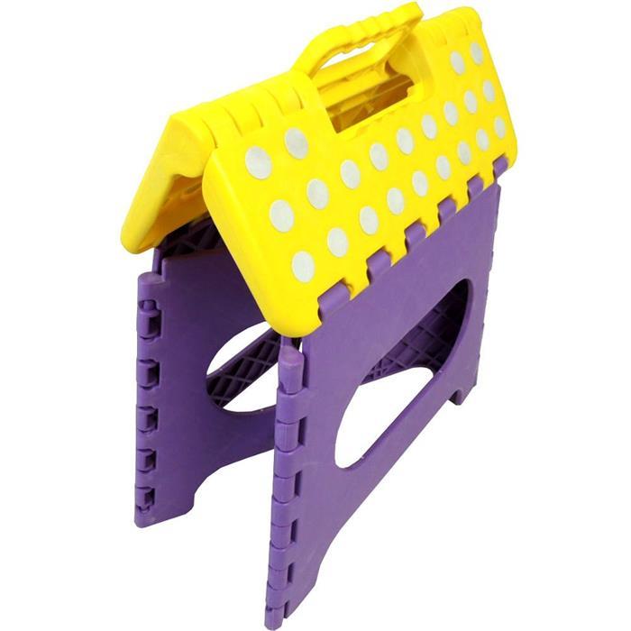 Banco Benoá SD027 Dobrável em Plástico Amarelo