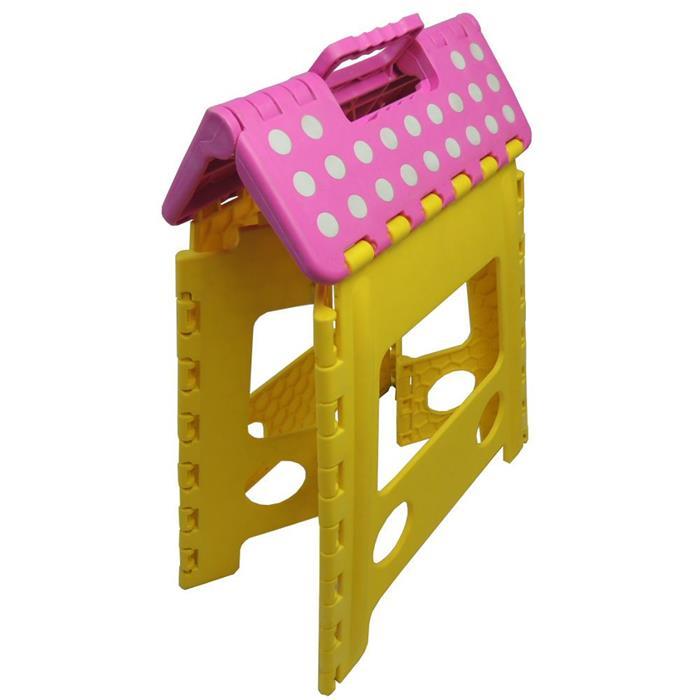 Banco Benoá SD009 Dobrável em Plástico Amarelo