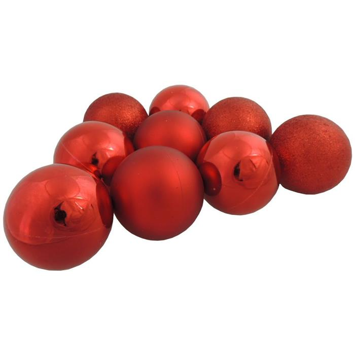 Bolinhas de Natal Benoá AR3/6012A14B10MG/R com 36 Unidades Vermelho