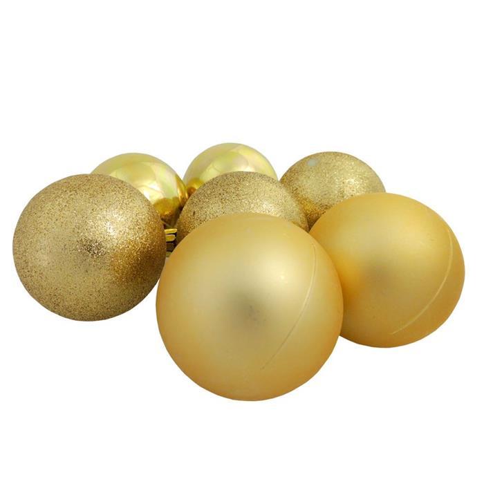 Bolinhas de Natal Benoá AR3/6012A14B10MG/G com 36 Unidades