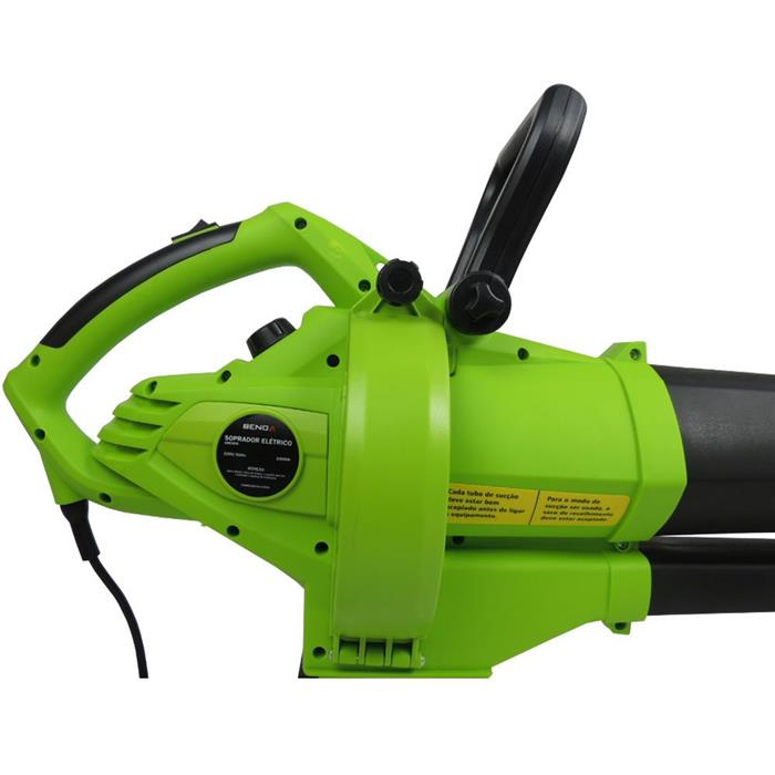 Soprador e Aspirador de Folhas Benoá GBB3000 3000W