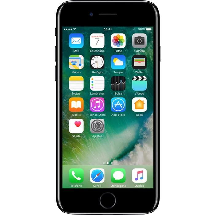 "Smartphone Apple iPhone 7 32GB 4,7"" 4G iOS Quadcore Câm 12MP + Frontal 7MP"