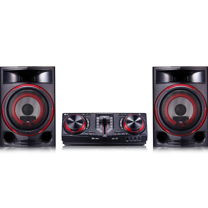 Mini System LG CJ87 1800W Bluetooth Dual USB Karaokê