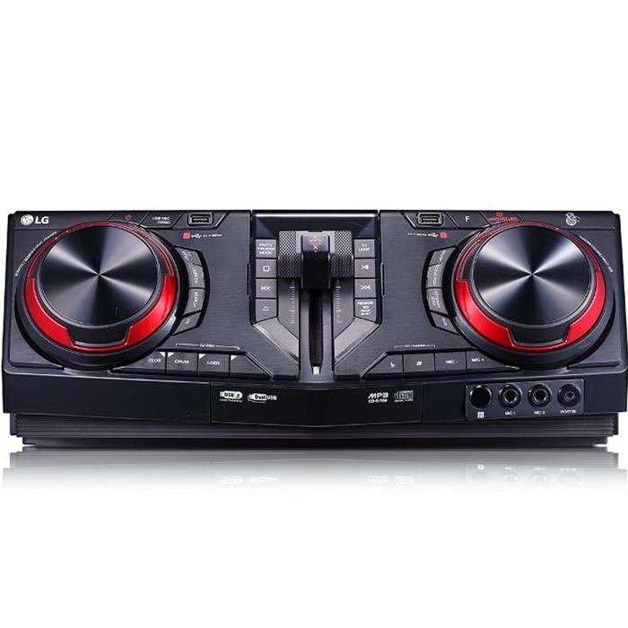 Mini System LG CJ98 2700W Bluetooth Dual USB Karaokê Multi Bluetooth