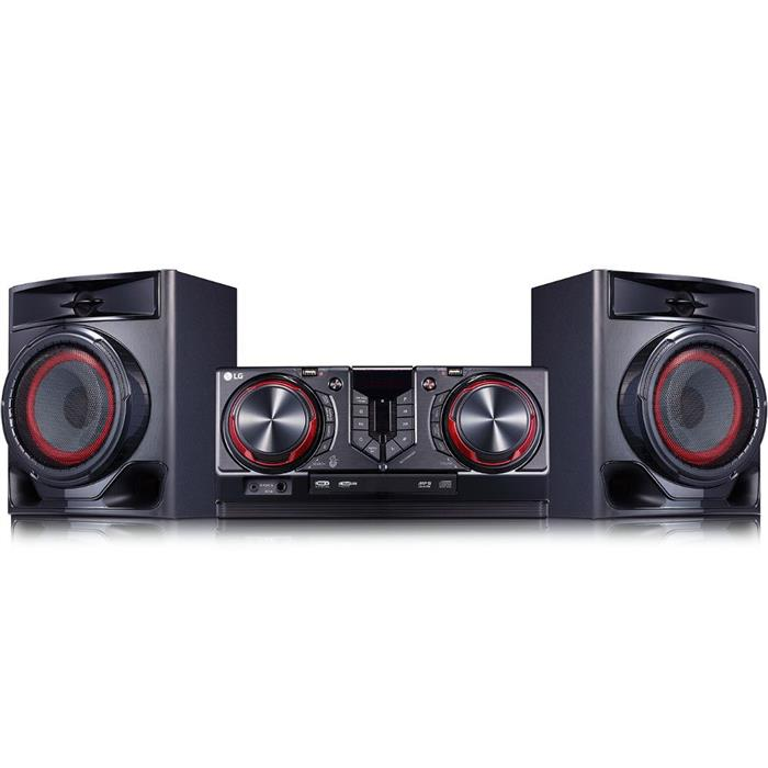 Mini System LG CJ44 440W Bluetooth USB Karaokê Auto DJ