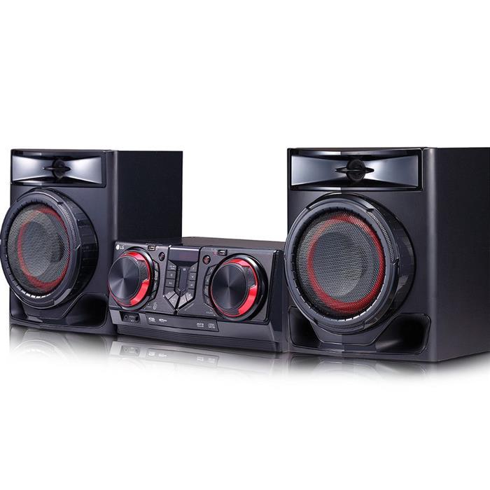 Mini System LG CJ44 440W Bluetooth USB Karaokê Auto DJ