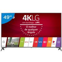 "Smart TV LG 49UJ6565 49"" Ultra HD 4K LED"
