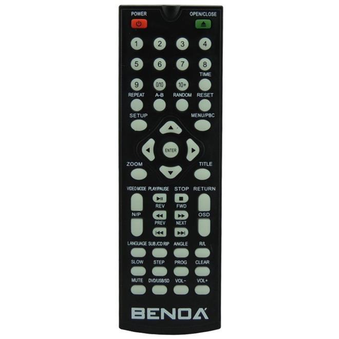 DVD Player Benoá TKM363-BK MP3 USB Bivolt