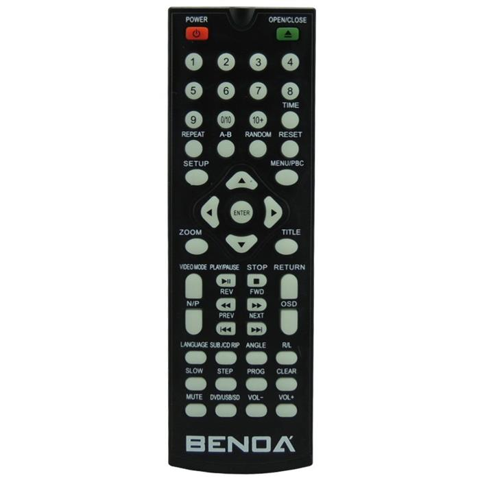 DVD Player Benoá TKM363-BK MP3 USB Bivolt