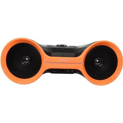 Rádio Portátil Benoá LY-BX20OR Bluetooth FM MP3 USB Entrada Auxiliar