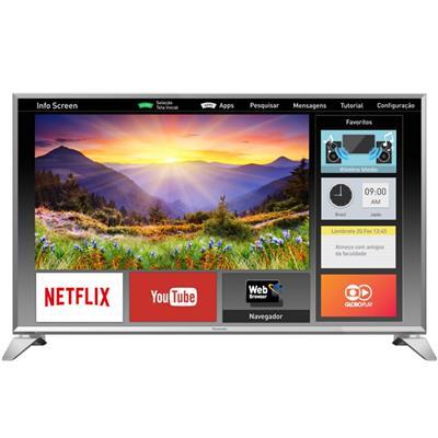 "Smart TV Panasonic TC-43ES630B LED 43"" Full HD USB HDMI Wi-Fi"
