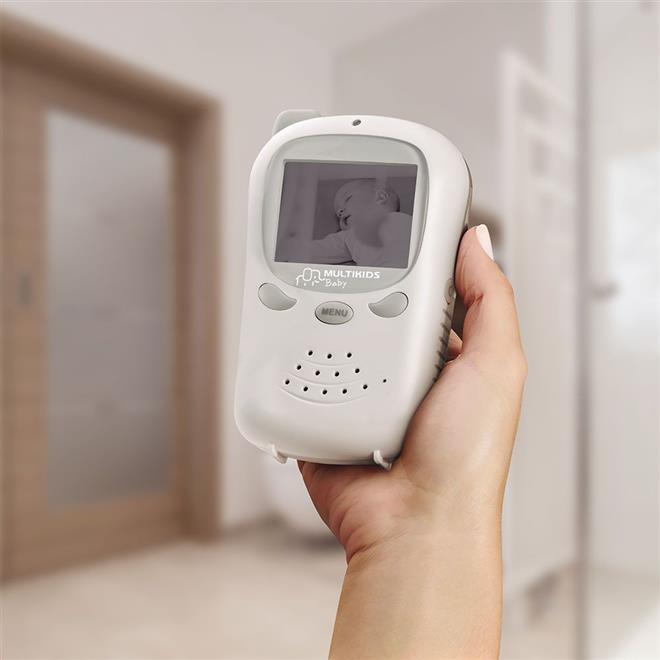 Babá Eletrônica Multikids BB126 Digital com Câmera