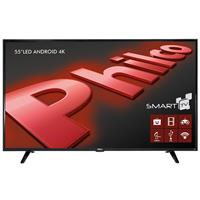 "Smart TV Philco PH55E61DSGWA 4K 55"" LED Android HDMI USB"