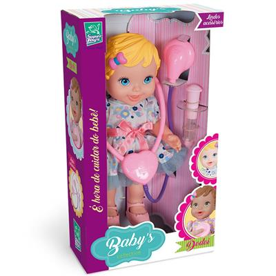 Boneca Super Toys Baby Collection Dodói 295