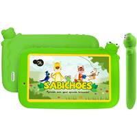 "Tablet DL Sabichões Kids Tela 7"" 8GB Wi-fi Bluetooth"