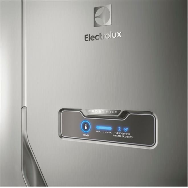 Refrigerador Electrolux DFX41 Frost Free Duplex 371 Litros Inox