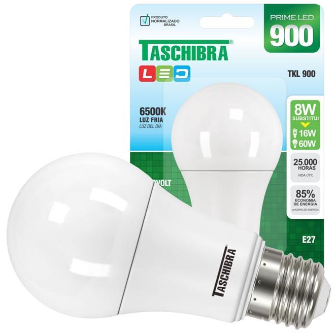 Lâmpada Taschibra TKL900 LED 8W