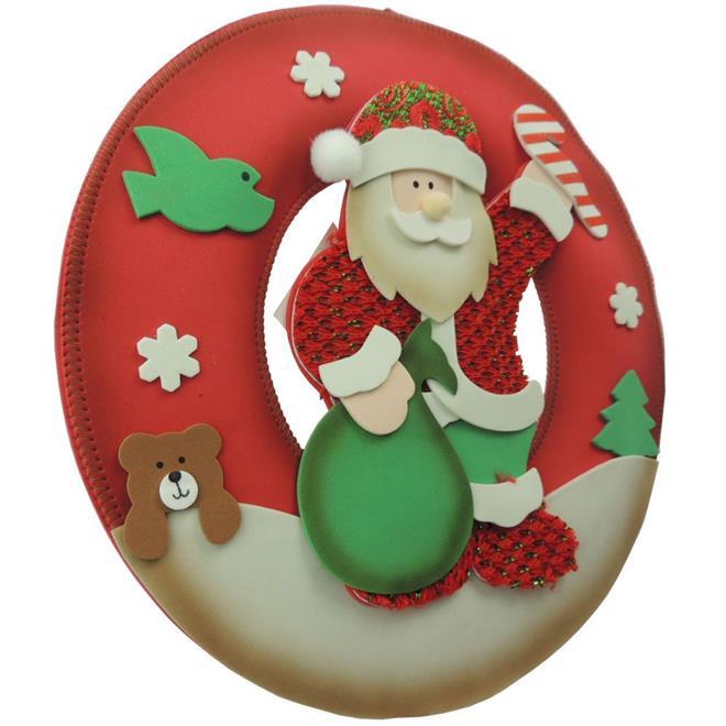 Guirlanda de Natal Benoá F28-16E053A com Papai Noel