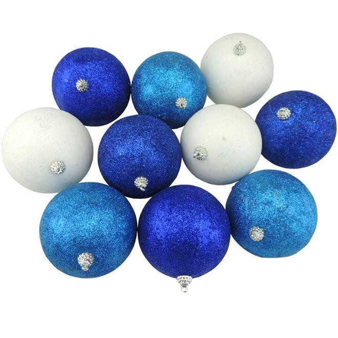 Bolinhas de Natal Benoá D44-6380160D com 16 Unidades Colorido