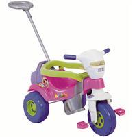 Triciclo Magic Toys Bichos 3513 com Aro e Luzes
