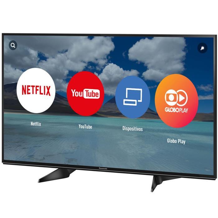 "Smart TV Panasonic TC-49EX600B 49"" Ultra HD 4K"