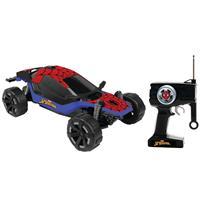 Carro Candide Combat Cruiser Spider-Man 5831 7 Funções com Controle Remoto