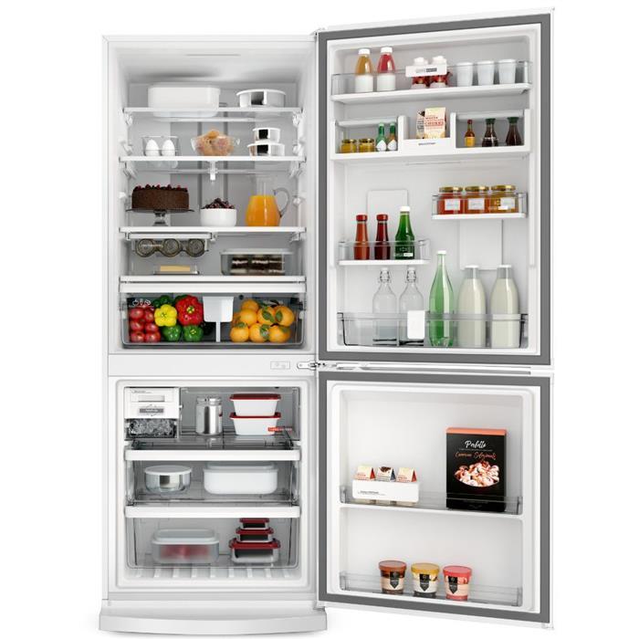 Refrigerador Brastemp BRE57AB Frost Free Duplex 443 Litros Inverse Branco