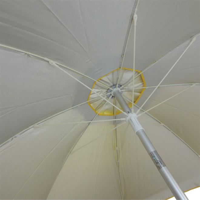 Guarda Sol Benoá FNC200-04 Articulado 2 Metros Amarelo
