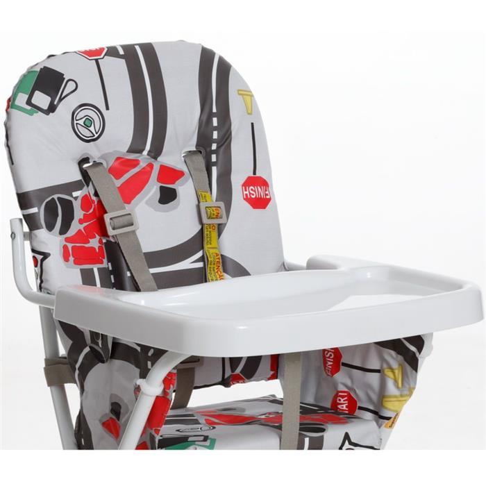 Cadeira de Alimentação Galzerano 5016 até 15kg Cinto de Segurança de 5 Pontos