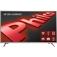 "Smart TV Philco PH55E61DSGWAS 58"" LED Android HDMI USB"
