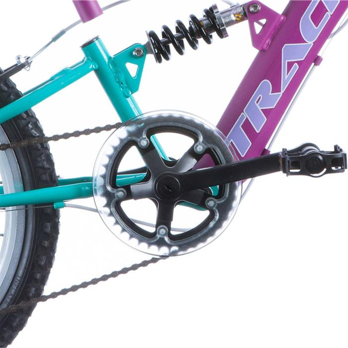 Bicicleta Track Bikes XS20-6V-MB 6 Marchas Aro 20 com Suspensão