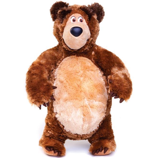 Urso de Pelúcia Estrela Masha e o Urso 40cm