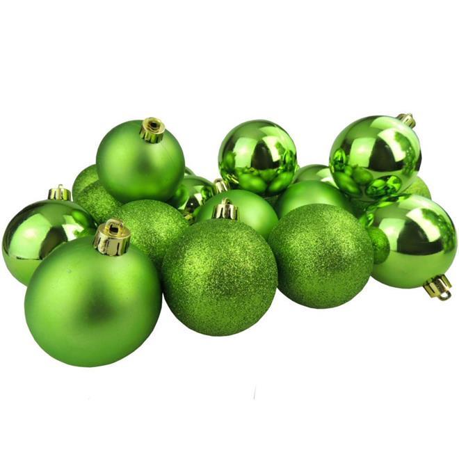 Bolinhas de Natal Benoá AR3/JT090/LGR com 40 Unidades
