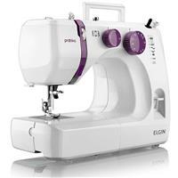 Máquina de Costura Portátil Elgin Prátika JX2051 9 Pontos Branco