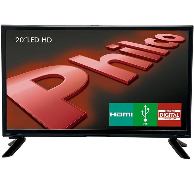 "TV Philco PH20M91D LED 20"" HD HDMI USB"