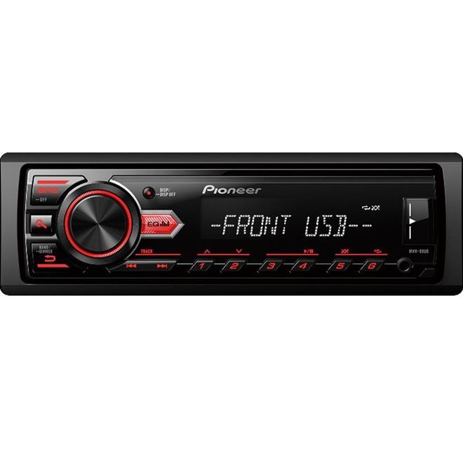 Auto Rádio Pioneer MVH-98UB MP3 USB Entrada Auxiliar