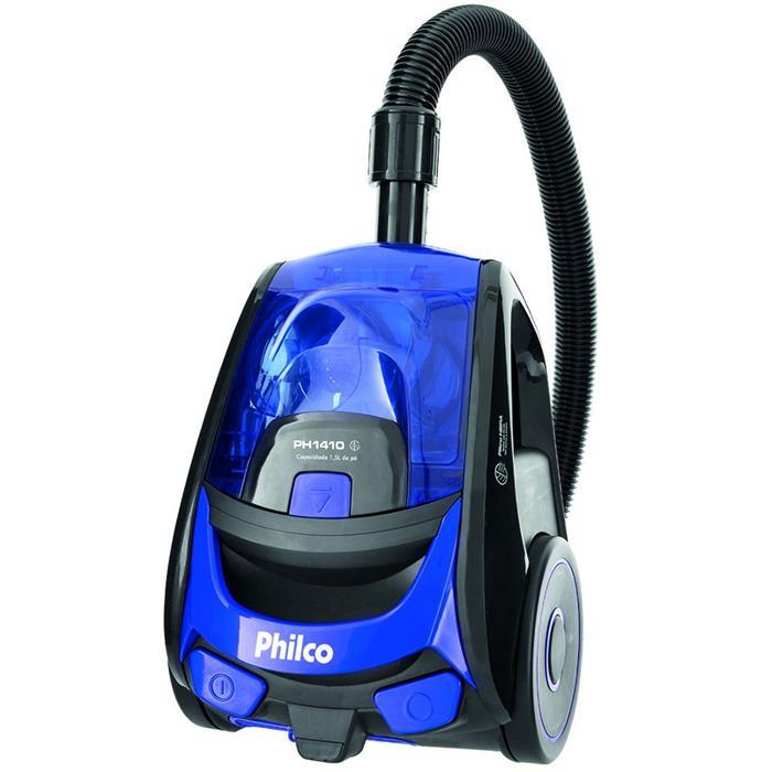 Aspirador de Pó Philco PH1410 1400W 1,5 Litros Preto