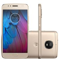 "Smartphone Motorola Moto G5s Tela 5,2"" 32GB Câm 16MP + Frontal 5MP"