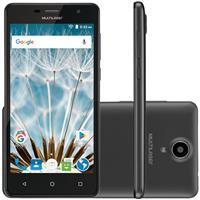 "Smartphone Multilaser MS50S Tela 5"" 8GB Câm 8MP + Frontal 5MP Quadcore"