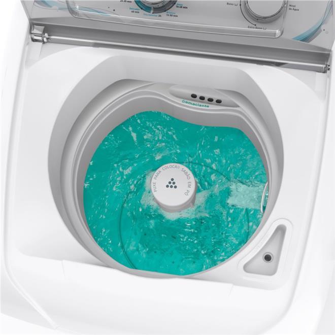 Lavadora de Roupas Mueller Energy 6kg 11 Programas de Lavagem Branco