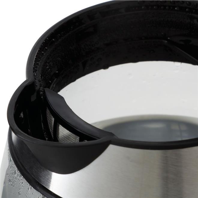 Chaleira Elétrica Philco Glass 1,7 Litros com Painel Digital